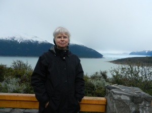 On the way to the Perito Moreno glacier in Argentina