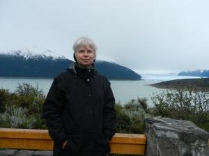On the way to the Perito Moreno glacier in Argentina