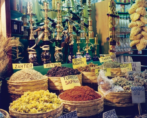 Istanbul's spice Bazaar - 1999
