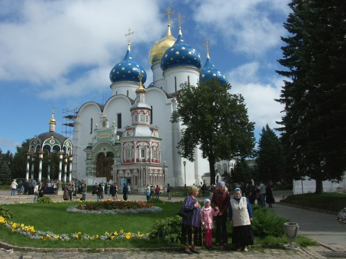 Before I started on the Trans-Mongolian leg, I visited Sergiev Posad near Moscow