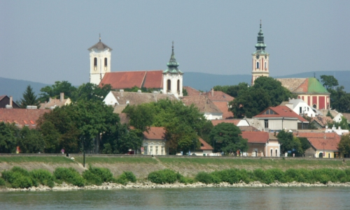Szentendre from the Danube, 2004