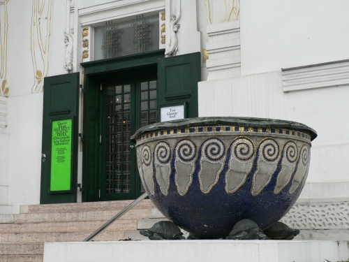 The Entrance to the Secession Building