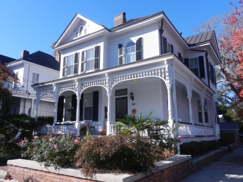 Typical house in old town Wilmington