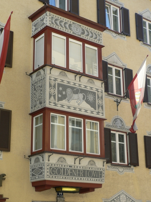 Building in central Kufstein