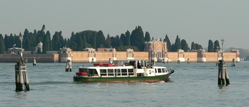 Venice's cemetery island