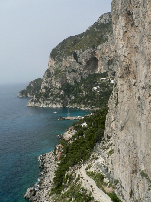 The rocky island of Capri
