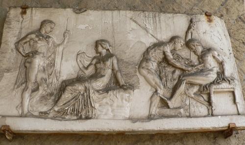 Wall decoration, Herculaneum