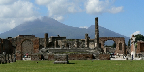 Pompeii - and Vesuvius