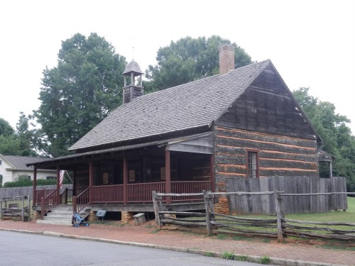 African Moravian Log Church, Old Salem