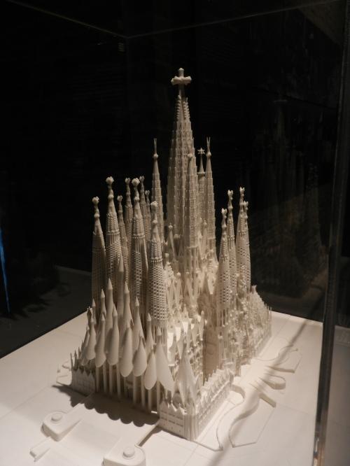 Model of Gaudi's Sacrada Familia